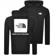 The North Face Redbox Logo Hoodie Black