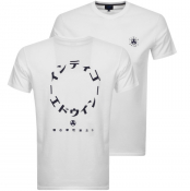 Product Image for Edwin Crew Neck Dreamers Logo T Shirt White