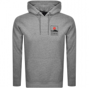 Product Image for Edwin Sunset Logo Hoodie Grey