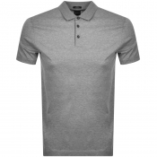 BOSS HUGO BOSS Pitton Polo T Shirt Grey