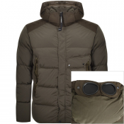Product Image for CP Company Padded Jacket Khaki