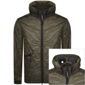 Product Image for CP Company Goggle Hooded Jacket Khaki