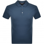 Michael Kors Sleek Polo Blue