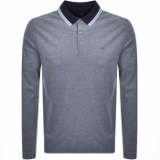 Product Image for Michael Kors Greenwick Long Sleeve Polo Navy