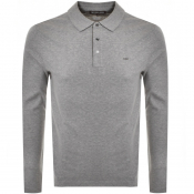 Product Image for Michael Kors Sleek Long Sleeve Polo Grey
