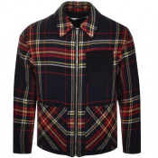 Product Image for MCQ Alexander McQueen Nathan Jacket Navy