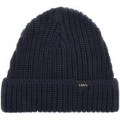 Product Image for Edwin Purl Knit Beanie Hat Navy