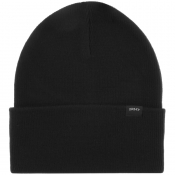 Product Image for Edwin Kurt Knit Beanie Hat Black