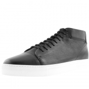 Product Image for Sweeney London Novas Leather Trainers Black