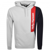 Product Image for Helly Hansen Young Urban Logo Blocked Hoodie Grey