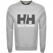 Helly Hansen Logo Crew Neck Sweatshirt Grey
