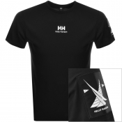 Product Image for Helly Hansen Young Urban Twin Logo T Shirt Black