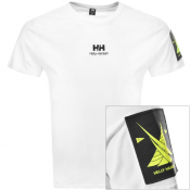 Product Image for Helly Hansen Young Urban Twin Logo T Shirt White