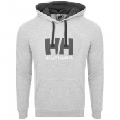 Product Image for Helly Hansen Logo Hoodie Grey