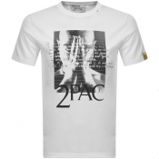 Product Image for Replay 2Pac Tribute Logo T Shirt White