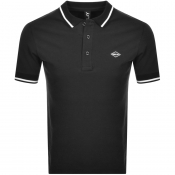 Product Image for Replay Short Sleeved Logo Polo T Shirt Black