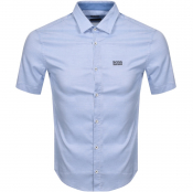 Product Image for BOSS Athleisure Brodi S Short Sleeved Shirt Blue