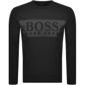 BOSS Athleisure Saltech Sweatshirt Black