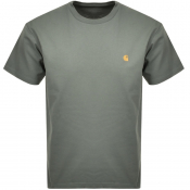 Carhartt Chase Short Sleeved T Shirt Green