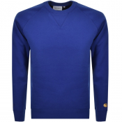 Product Image for Carhartt Chase Sweatshirt Blue