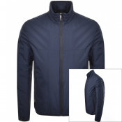 Product Image for BOSS Athleisure J Taped Thermo Jacket Navy