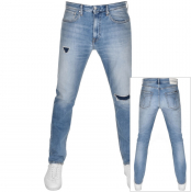 Product Image for Calvin Klein Jeans Athletic Taper Jeans Blue
