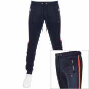 True Religion Taped Jogging Bottoms Navy