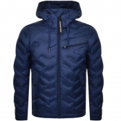 Product Image for G Star Raw Attacc Hooded Down Jacket Blue