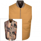 Billionaire Boys Club Tree Camouflage Gilet Beige