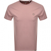 Pretty Green Crew Neck T Shirt Pink