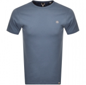 Pretty Green Crew Neck T Shirt Blue