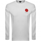 Product Image for Edwin Crew Neck Japanese Sun T Shirt White