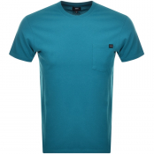 Product Image for Edwin Crew Neck Pocket T Shirt Blue