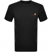 Product Image for Carhartt Script Short Sleeved T Shirt Black