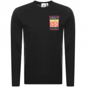 adidas Originals Long Sleeve Logo T Shirt Black