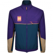 adidas Originals Logo Track Jacket Purple