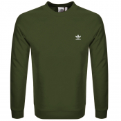 Product Image for adidas Originals Essential Sweatshirt Green