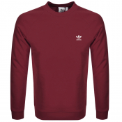 adidas Originals Essential Sweatshirt Burgundy