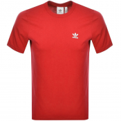 adidas Originals Essential T Shirt Red