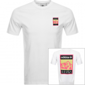 Product Image for Adidas Originals Adiplore Logo T Shirt White