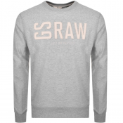Product Image for G Star Raw Core Crew Neck Sweatshirt Grey