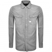 Product Image for G Star Raw Slim 3301 Shirt Grey