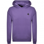 Vivienne Westwood Small Orb Oversized Hoodie Lilac