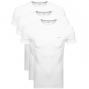 Diesel UMTEE Jake 3 Pack T Shirt White