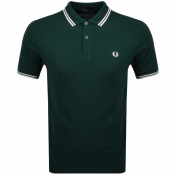 Product Image for Fred Perry Twin Tipped Polo T Shirt Green