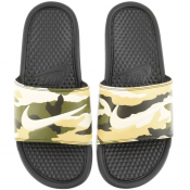 Product Image for Nike Camouflage Benassi JDI Sliders Black