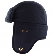 True Religion Horseshoe Logo Hat Navy