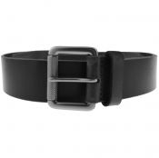 Superdry Badgeman Leather Belt Black