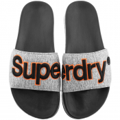 Product Image for Superdry Classic Logo Sliders Grey