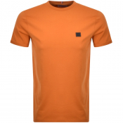 Product Image for Les Deux Crew Neck Piece T Shirt Orange